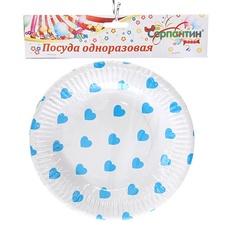 Набор тарелок круглых